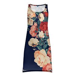 Женская туника Fashion flowers