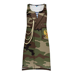 Туника женская Униформа дембеля цвета 3D — фото 1