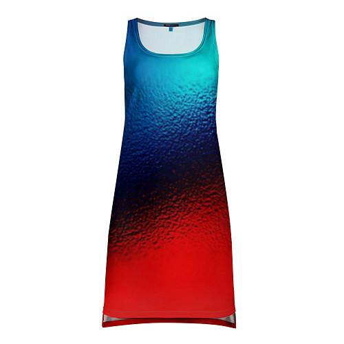 Женская туника Синий и красный / 3D – фото 1