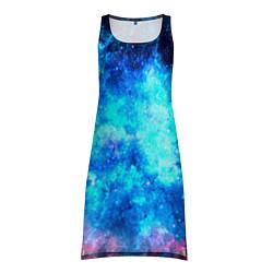 Туника женская Голубая вселенная цвета 3D — фото 1