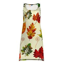 Туника женская Осень цвета 3D — фото 1