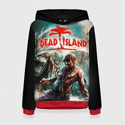 Толстовка-худи женская Dead Island цвета 3D-красный — фото 1