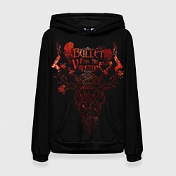 Толстовка-худи женская Bullet For My Valentine цвета 3D-черный — фото 1