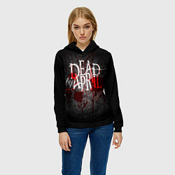 Толстовка-худи женская Dead by April цвета 3D-черный — фото 2