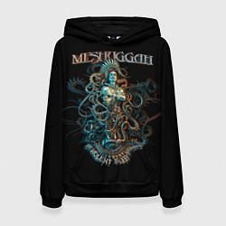 Толстовка-худи женская Meshuggah: Violent Sleep цвета 3D-черный — фото 1