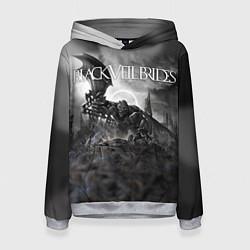 Толстовка-худи женская Black Veil Brides: Faithless цвета 3D-меланж — фото 1