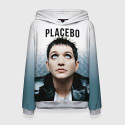 Толстовка-худи женская Placebo: Brian Molko цвета 3D-меланж — фото 1