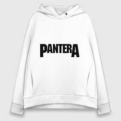 Толстовка оверсайз женская Pantera цвета белый — фото 1
