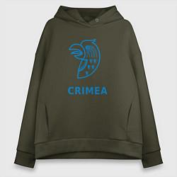 Женское худи оверсайз Crimea