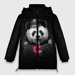 Куртка зимняя женская Donut Panda цвета 3D-черный — фото 1