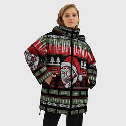 Куртка зимняя женская Freddy Christmas цвета 3D-черный — фото 2