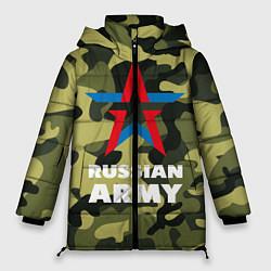 Куртка зимняя женская Russian army цвета 3D-черный — фото 1
