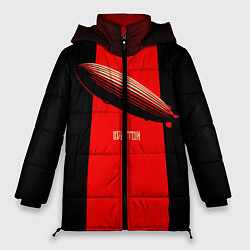 Куртка зимняя женская Led Zeppelin: Red line - фото 1