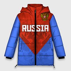 Женская зимняя куртка Russia Red & Blue