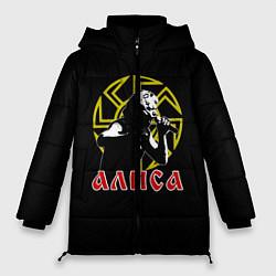 Куртка зимняя женская АлисА: Коловрат цвета 3D-черный — фото 1