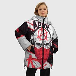 Куртка зимняя женская Ария: Анархия цвета 3D-черный — фото 2