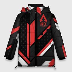 Женская зимняя 3D-куртка с капюшоном с принтом Apex Cyrex, цвет: 3D-черный, артикул: 10173139106071 — фото 1