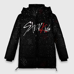 Женская зимняя 3D-куртка с капюшоном с принтом STRAY KIDS, цвет: 3D-черный, артикул: 10185255706071 — фото 1
