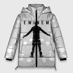 Куртка зимняя женская EMINEM цвета 3D-черный — фото 1