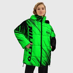 Женская зимняя 3D-куртка с капюшоном с принтом Niletto, цвет: 3D-черный, артикул: 10210978906071 — фото 2