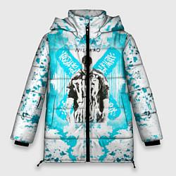 Женская зимняя 3D-куртка с капюшоном с принтом NILETTO, цвет: 3D-черный, артикул: 10211069706071 — фото 1