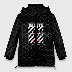 Женская зимняя 3D-куртка с капюшоном с принтом Juice WRLD, цвет: 3D-черный, артикул: 10213869106071 — фото 1