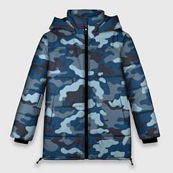 Женская зимняя куртка Камуфляж МВД