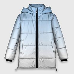 Куртка зимняя женская Небесно-голубой градиент - фото 1