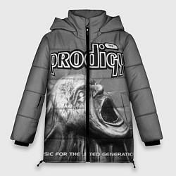 Куртка зимняя женская The Prodigy: Madness цвета 3D-черный — фото 1