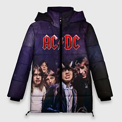 Куртка зимняя женская AC/DC цвета 3D-черный — фото 1