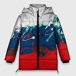 Куртка зимняя женская Триколор РФ - фото 1