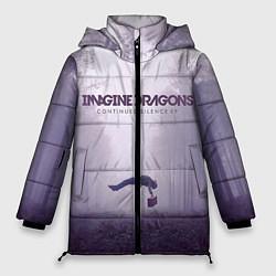 Куртка зимняя женская Imagine Dragons: Silence цвета 3D-черный — фото 1