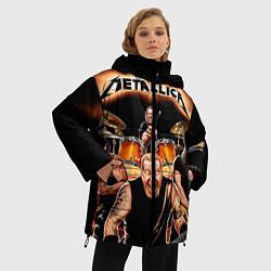 Куртка зимняя женская Metallica Band - фото 2