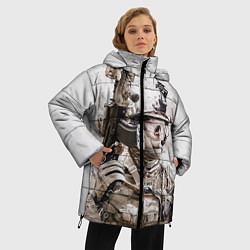 Куртка зимняя женская ФСБ Альфа цвета 3D-черный — фото 2