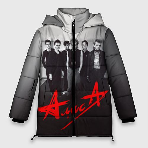 Женская зимняя куртка АлисА: Трасса E95 / 3D-Черный – фото 1