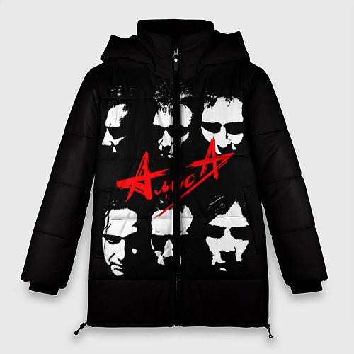 Женская зимняя куртка Группа АлисА / 3D-Черный – фото 1