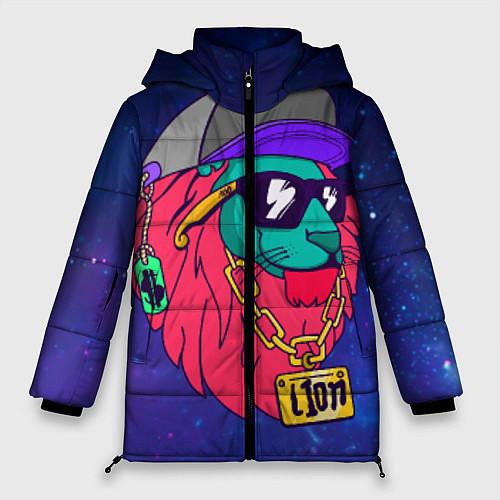 Женская зимняя куртка Лев SWAG / 3D-Черный – фото 1