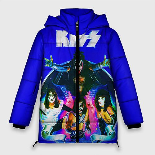 Женская зимняя куртка Kiss Show / 3D-Черный – фото 1