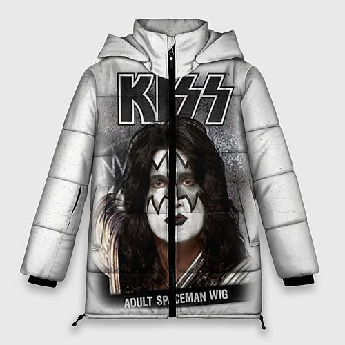 Женская зимняя куртка KISS: Adult spaceman wig / 3D-Черный – фото 1
