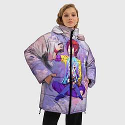 Куртка зимняя женская No Game No Life цвета 3D-черный — фото 2