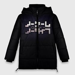 Куртка зимняя женская No Game No Life лого цвета 3D-черный — фото 1