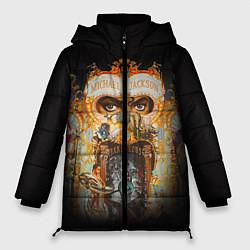 Куртка зимняя женская Michael Jackson Show цвета 3D-черный — фото 1
