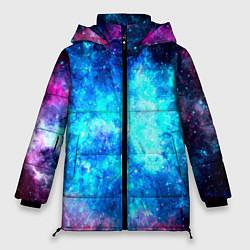 Куртка зимняя женская Голубая вселенная - фото 1