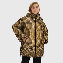 Куртка зимняя женская Змеиная кожа - фото 2