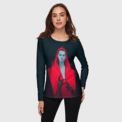 Лонгслив женский Red Vamripe цвета 3D — фото 2