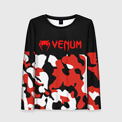 Лонгслив женский Venum цвета 3D-принт — фото 1