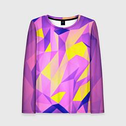 Лонгслив женский Texture цвета 3D — фото 1