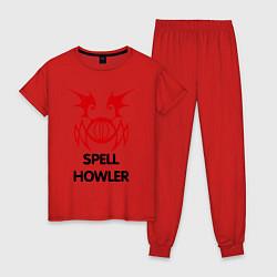 Женская пижама Dark Elf Mage - Spell Howler