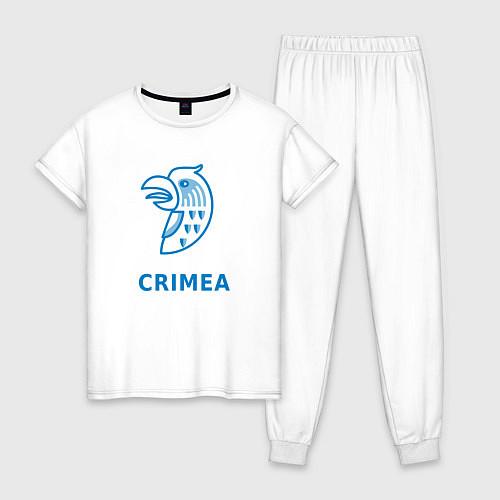 Женская пижама Crimea / Белый – фото 1