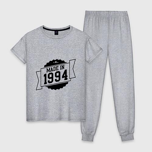 Женская пижама Made in 1994 / Меланж – фото 1